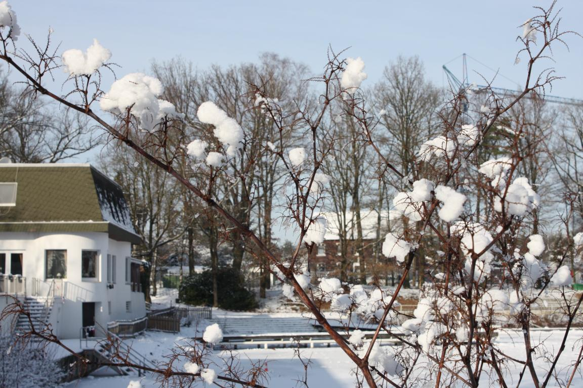 Tonwerke im Winter